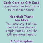Gift Ideas for Caregivers