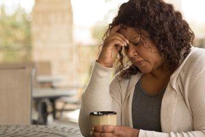 Caregiver feeling overwhelmed